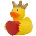 Gummi-ente Herz mit Krone  LILALU