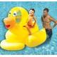 Swinline opblaasbare badeend super groot XL met drijvers  Opblaasbaar