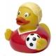 Badeend voetbal vrouw DR  Sport eendjes