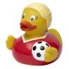 Badeend voetbal vrouw DR