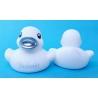 Rubber duck BEDANKT B silver