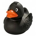 Gummi ente Ducky 7,5 cm  DR Schwarz