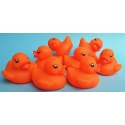 Rubber duck mini orange B