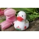 Rubber duck Tulip 8 cm  Dutch Duckies