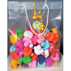 Duckybag 100 mini eendjes 5cm  Overige kleuren