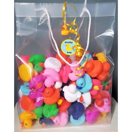 Duckybag Tasche mit 100 mini 5cm  Übrige farben