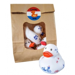 DUCKYbag  Dutch Delft, Tulip & Bike 3 pieces