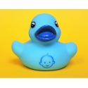 Rubber duck baby face blue B