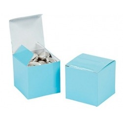 Box Baby blue (per 24)  Packing