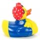 Rubber duck Rosie the Riveter LUXY  Luxy ducks