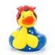 Rosie the Riveter badeend LUXY  Luxy eendjes