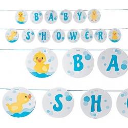 Gummiente Babyshower Girlande (per 2)  Übrige