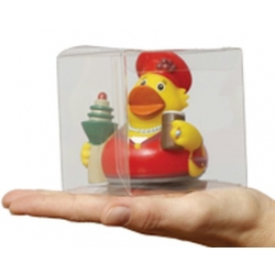 Pet transparant plastic doosje 8.6 cm  Verpakking