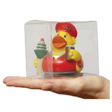 Transparent plastic box 8.6 cm  Packing