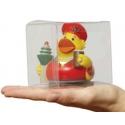 Pet transparant plastic doosje 8.6 cm