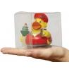 Transparent plastic box 8.6 cm