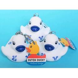 Sleutelhanger DUTCH DUCKY Delfts Blauw  Dutch Ducky