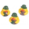 Rubber duck mini Army camouflage (per 3)