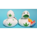 Badeend DUTCH DUCKY  Cannabis /wiet 8 cm