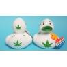 Badeend DUTCH DUCKY  Cannabis /wiet 8 cm