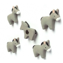 Mini fridge magnets donkey