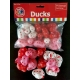 Rubber duck mini hearts 4 cm (bag of 12 pieces)  Mini ducks