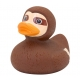 Rubber duck Sloth LILALU  Lilalu