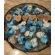 Badeend mini baby blauw B (bij 100: € 0,90)  Overige kleuren