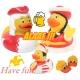 Rubber duck prince of carnival LILALU  Lilalu