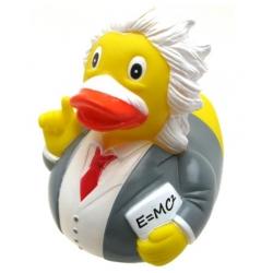 Rubber duck Albert Einstein LUXY  Luxy ducks