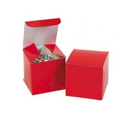Doosje (per 12) rood  Verpakking