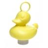 Ente mit Haken groß gelb