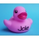Rubber duck baby pink B (100: € 0,90)  Other colors