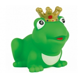 Kikker koning met kroon gekleurd D  Kikkers mee bestellen