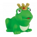 Kikker koning met kroon gekleurd D