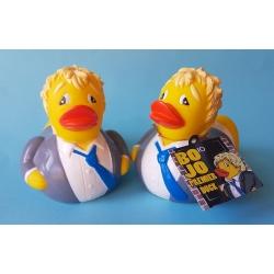 Rubber duck Boris Johnson British prime minister LUXY  Luxy ducks
