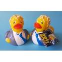Rubber duck Boris Johnson British prime minister LUXY