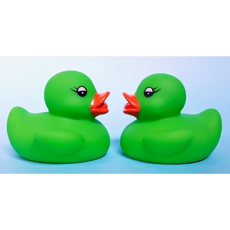 Rubber duck mini lime green B  Other colors