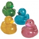 Rubber duck mini Glitter (per 4)  Mini ducks