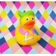 Rubber duck hairdresser DR  Profession ducks
