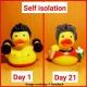Rubber duck Bodybuilder LILALU  Lilalu