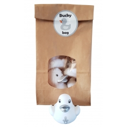DUCKYbag baby silver 4 pieces  Babyshower gift