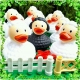 Rubber duck Sheep Black LILALU  Lilalu