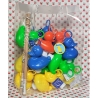 DUCKYbag 20 BIG Funfair ducks  & 2 Funfair fishing rods COLOR 2