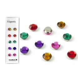 Super strong mini magnets set of 10 Lucy diamond (set of 10)  Magnets