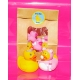 Rubber duck baby pink DR  Babyshower gift