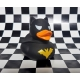 Badeend Dark Duck Held zwart LILALU  Lilalu