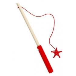 Kermis eend hengel 23,5 cm Rood  Kermiseenden