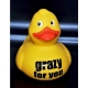 Rubber duck 12,5 cm DR  Yellow