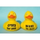 Duck with your own name/ text 12.5 CM  Home